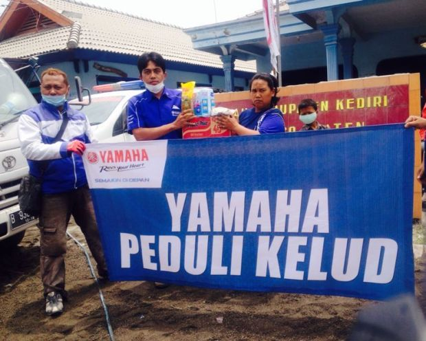 Yamaha Peduli Kelud 5