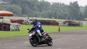 Test ride Mio Z di Sentul Karting International Circuit (1)